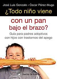 Portada libro ¿todo nino viene con un pan...